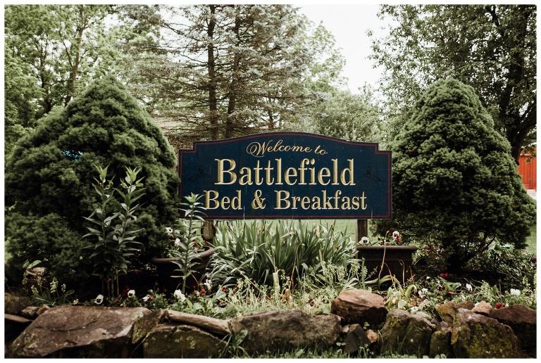 Battlefield Bed Breakfast Wedding And Gettysburg Photographer